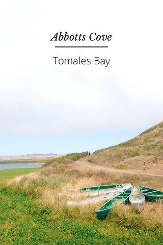 Tomales Bay Abbotts Cove