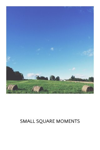 SMALL SQUARE MOMENTS