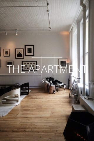 THE APARTMENT Soho