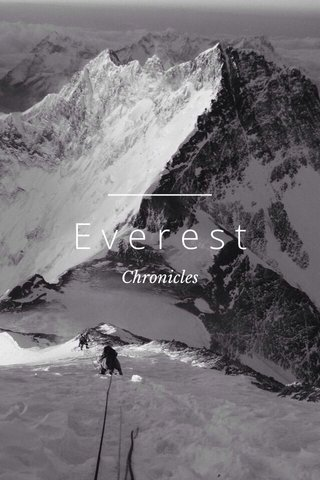 Everest Chronicles
