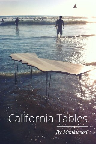 California Tables By Monkwood