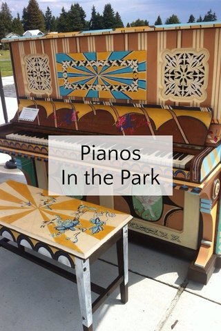 Pianos In the Park