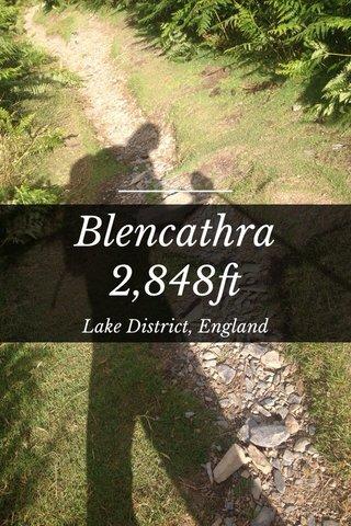 Blencathra 2,848ft Lake District, England