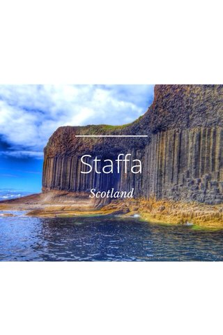 Staffa Scotland