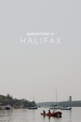 HALIFAX summertime in