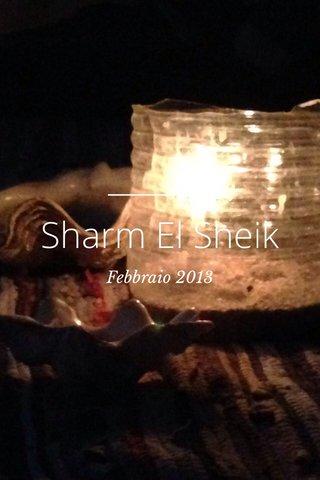 Sharm El Sheik Febbraio 2013