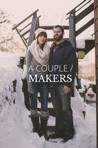 MAKERS A COUPLE /