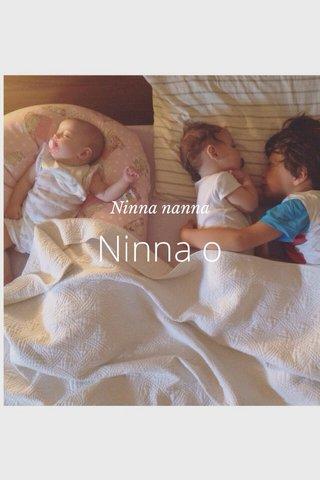 Ninna o Ninna nanna