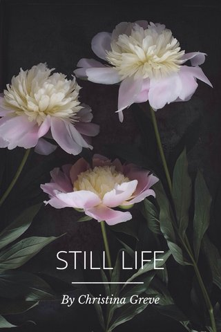 STILL LIFE By Christina Greve