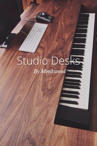 Studio Desks By Monkwood