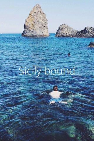 Sicily bound