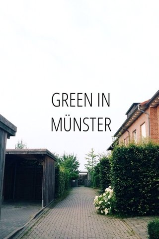 GREEN IN MÜNSTER