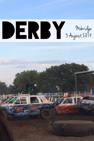 Derby Mobridge 3 August 2014 .