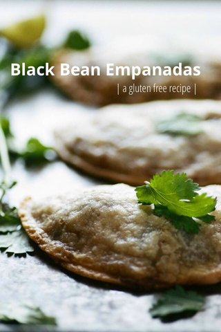 Black Bean Empanadas | a gluten free recipe |
