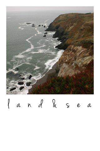land & sea