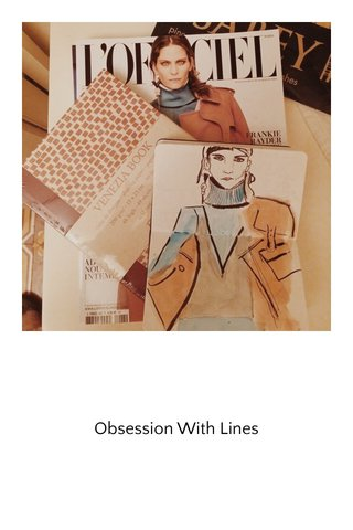 Obsession With Lines