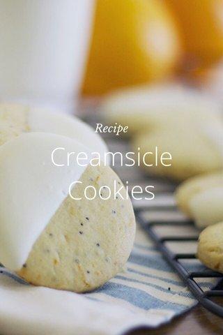 Creamsicle Cookies Recipe