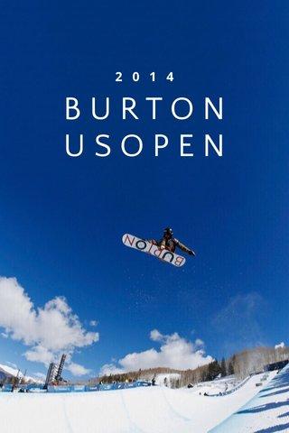 USOPEN BURTON 2014