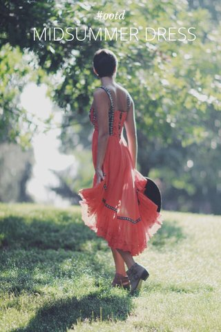 MIDSUMMER DRESS #ootd