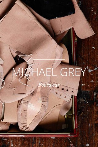 MICHAEL GREY Footwear