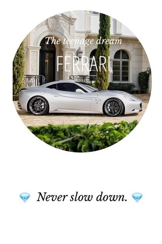 💎 Never slow down. 💎