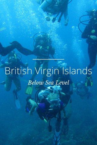 British Virgin Islands Below Sea Level