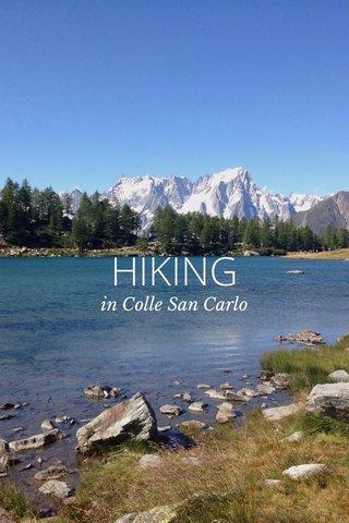 HIKING in Colle San Carlo