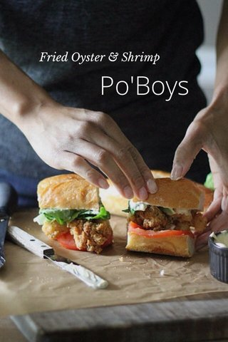 Po'Boys Fried Oyster & Shrimp