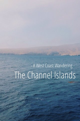 The Channel Islands - A West Coast Wandering -