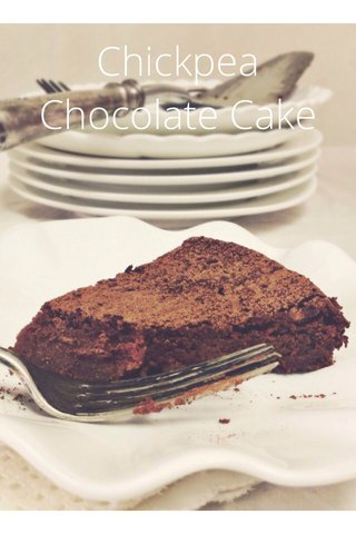 Chickpea Chocolate Cake