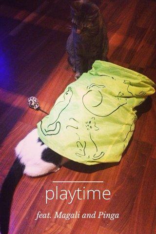 playtime feat. Magali and Pinga