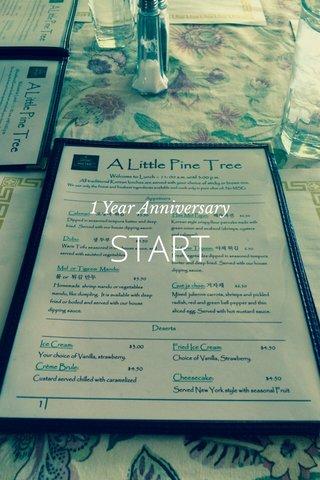 START 1 Year Anniversary