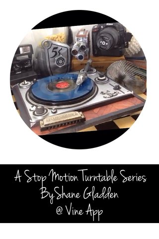 A Stop Motion Turntable Series ByShane Gladden @ Vine App