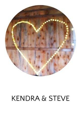 KENDRA & STEVE