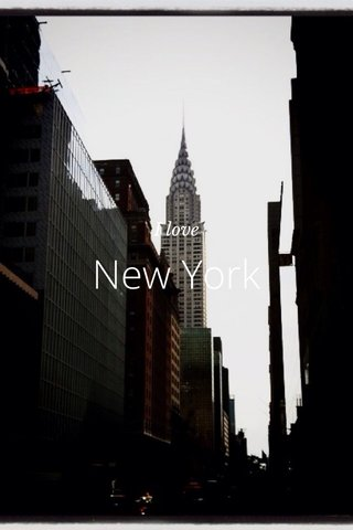 New York I love