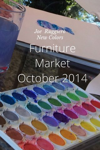 Furniture Market October 2014 Joe Ruggiero New Colors
