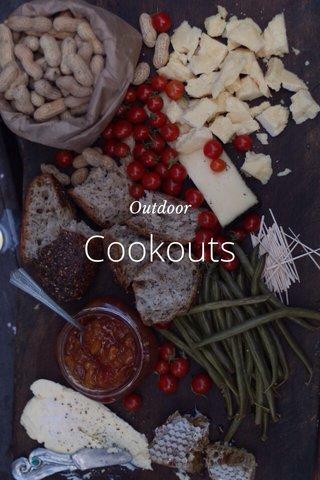 Cookouts Outdoor