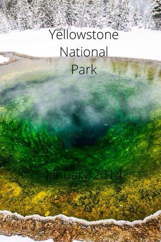 Yellowstone National Park January 2014