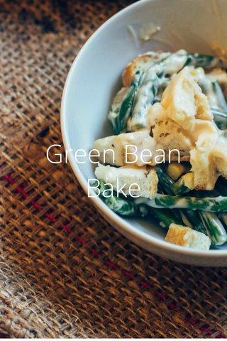 Green Bean Bake