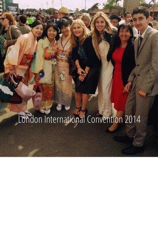 London International Convention 2014