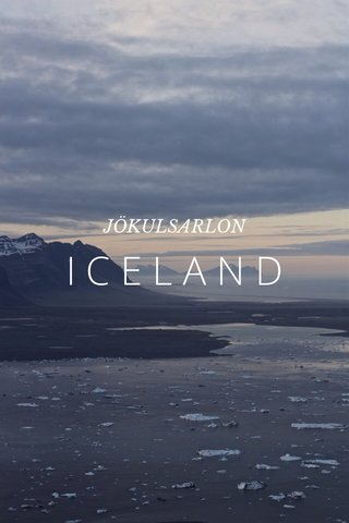 ICELAND JÖKULSARLON