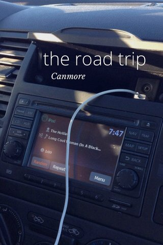 the road trip Canmore