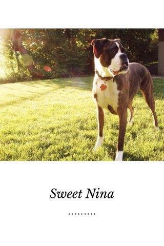......... Sweet Nina