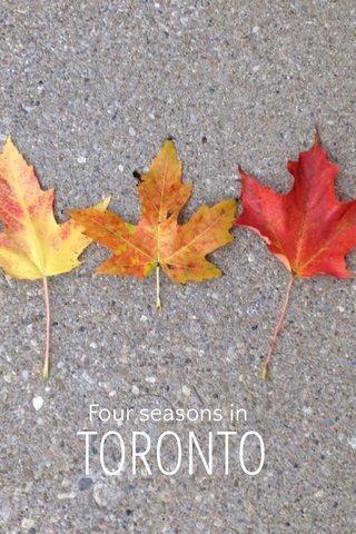 TORONTO Four seasons in