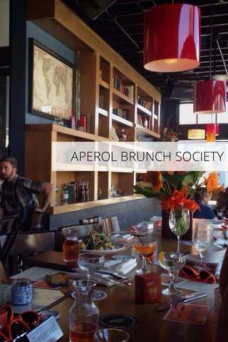 APEROL BRUNCH SOCIETY