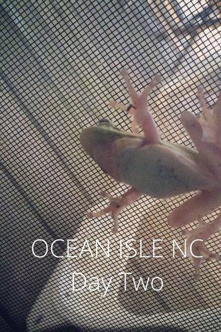 OCEAN ISLE NC Day Two