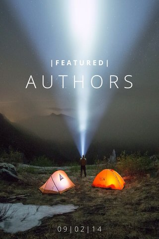 AUTHORS 09|02|14 |FEATURED|