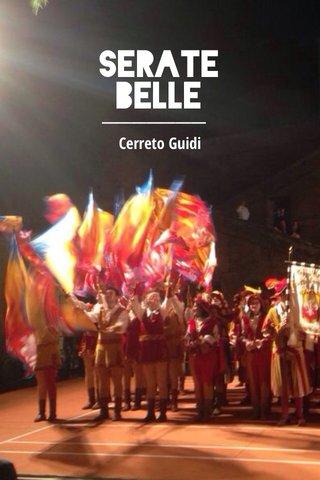 Serate Belle Cerreto Guidi