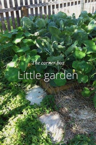 Little garden The corner box