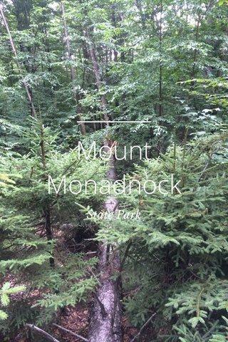 Mount Monadnock State Park